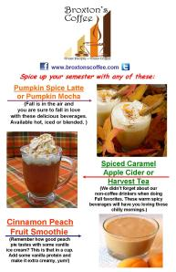 Featured Drink Specials 11 x 17 Oct 2013