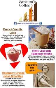 Featured Drink Specials 11 x 17 Feb 2013